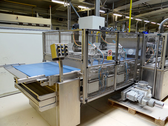 Linzer Biscuit Production Line - Pre-Owned BakeryEquipment.com is your bakery equipment source