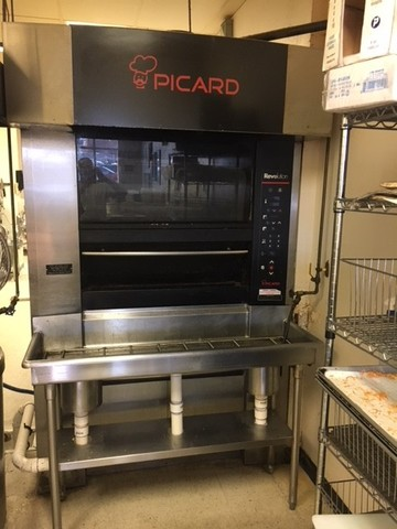 Picard Revolving Tray Gas Oven Model Re 4 8 Pre Owned