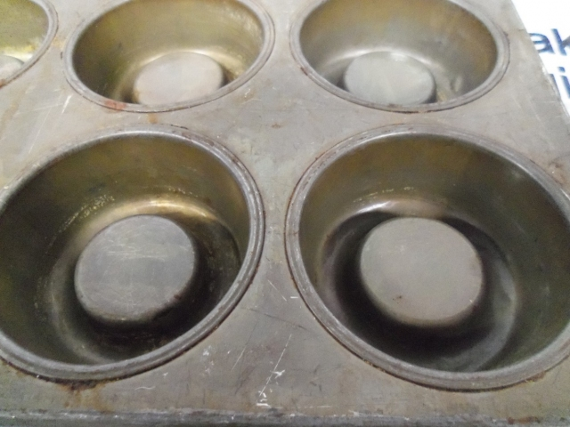 Ekco Glaco Shortcake Pans Pre Owned Muffin Pans