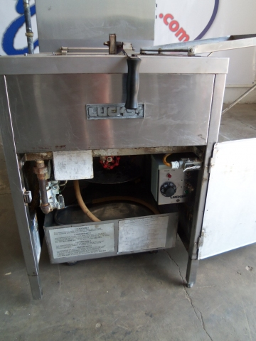 Lucks Gas Donut Fryer Model G1826 Pre Owned Gas Fryers