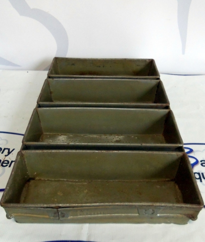 Ekco Glaco 4 Strap Bread Pan Pre Owned Loaf Pans