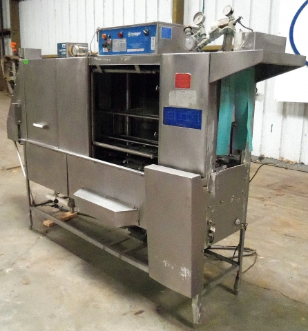 Insinger Automatic Double Tank Tray Washer Model Trac 321