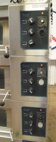 Revent Deck Oven Model 649 3x3200hc Pre Owned Electric