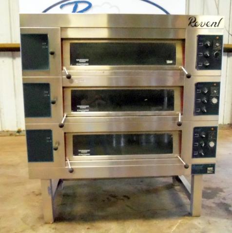 revent deck oven model 649 3x3200hc pre owned elect deck rh bakeryequipment com