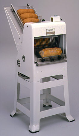 oliver model 797 n nsf gravity feed bread slicer new bread slicers