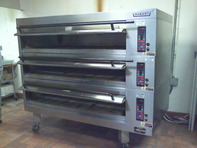Hobart 3 Deck Electric Oven Pre Owned Elect Deck