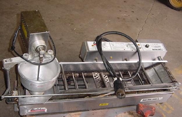 belshaw donut robot fryer model mark  gp pre owned elect counter bakeryequipmentcom