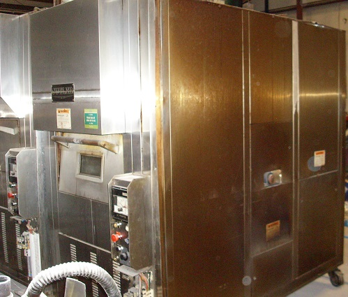 Cutler 7 Pan Gas Revolving Oven Model R907 Pre Owned Gas