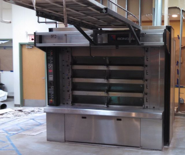 bongard cervap 4 deck oven model 750 pre owned gas. Black Bedroom Furniture Sets. Home Design Ideas