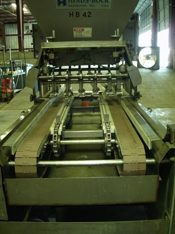 Ss Auto Sales >> Hinds Bock 6 Piston Auto Depositor wPan Conveyor Model 6P ...