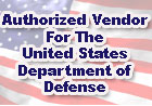 Authorized Vender for the United States Department of Defense